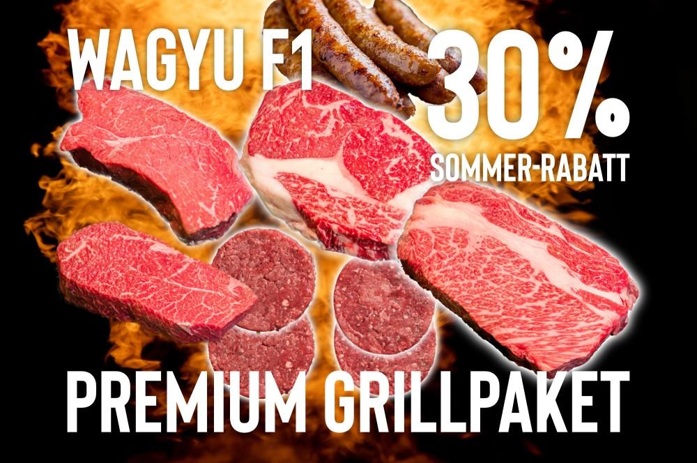 Premium Grillpaket Wagyu F1