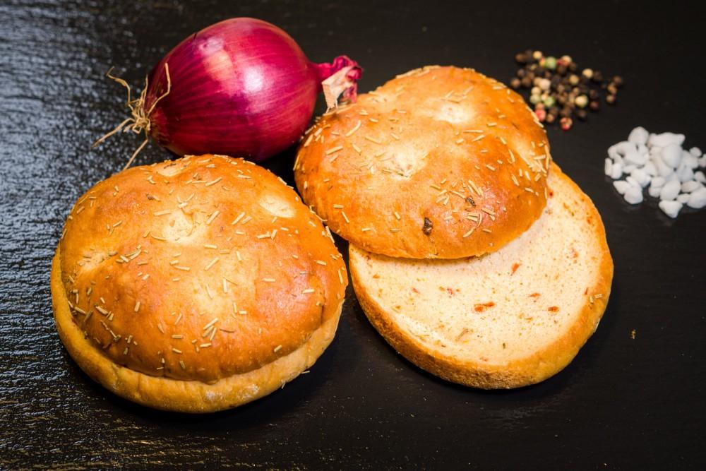 Focaccia Burger Buns (2er-Pack)